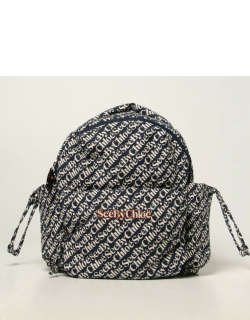 See By Chloé rucksack in logoed fabric