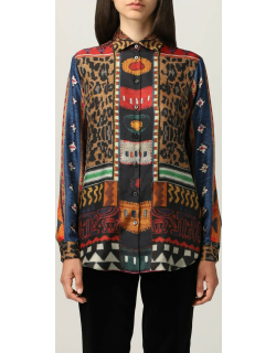 Etro shirt with patchwork pattern