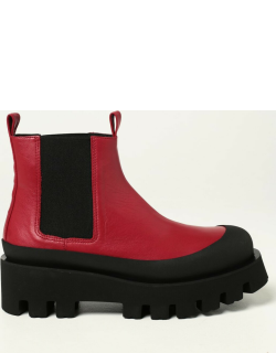 Flat Ankle Boots PALOMA BARCELÒ Women colour Red