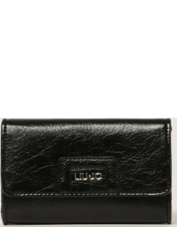 Liu Jo wallet in synthetic leather with logo
