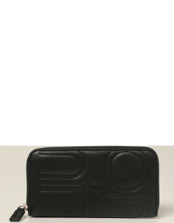 Liu Jo wallet in synthetic leather with quilted logo