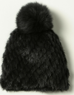 Max Mara hat in knitted fur