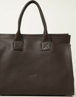 Marsèll Curva bag in hammered leather and suede