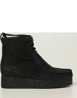 Ankle boots Wallabee Clarks Originals in nubuck
