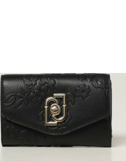 Liu Jo wallet in synthetic leather with flowers