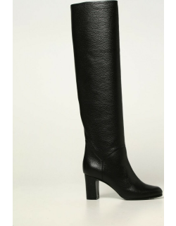 L'autre Chose boots in hammered leather
