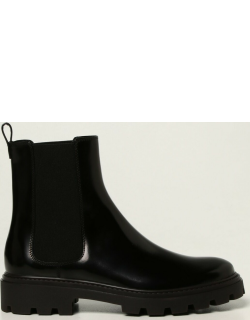 Tod's ankle boots in brushed leather