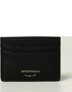 Emporio Armani card holder in synthetic leather