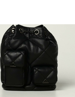 Emporio Armani backpack in quilted synthetic nappa leather