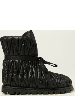 Miu Miu ankle boots in quilted nylon