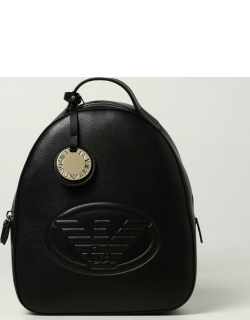 Emporio Armani rucksack in grained synthetic leather