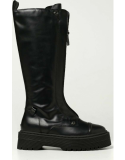 Armani Exchange boots in cowhide