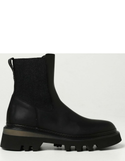 Woolrich ankle boots in split leather