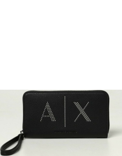 Armani Exchange wallet in synthetic leather