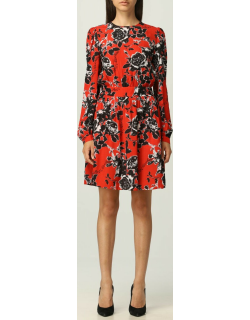 Love Moschino short dress with floral pattern