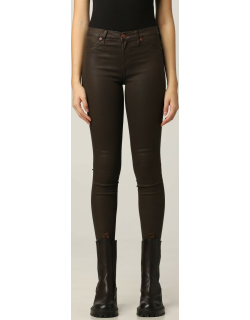 Trousers 7 FOR ALL MANKIND Women colour Brown