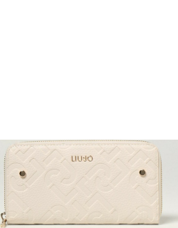 Liu Jo wallet in synthetic leather with embossed logo