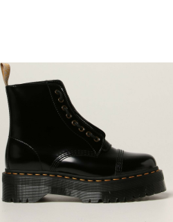 Vegan Sinclair Dr. Martens boots in patent leather