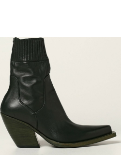 Flat Ankle Boots BARRACUDA Women colour Green