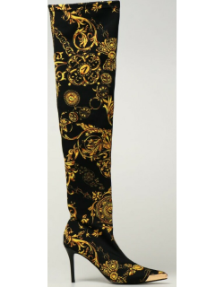Versace Jeans Couture boots with Regalia Baroque print