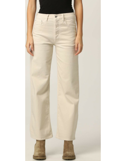 Trousers CYCLE Women colour Yellow Cream