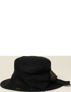 Barbour fisherman hat with patches