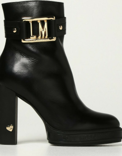 Heeled Ankle Boots LOVE MOSCHINO Women colour Black