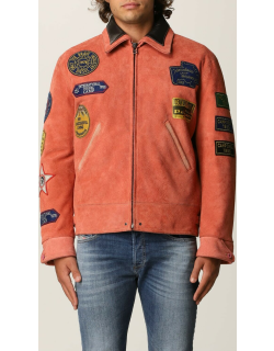 DxD3 Diesel suede jacket with patches