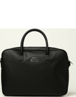 Armani Exchange briefcase in saffiano synthetic leather