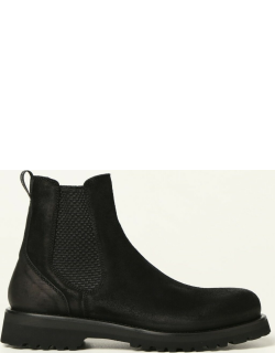 Woolrich ankle boot in split leather