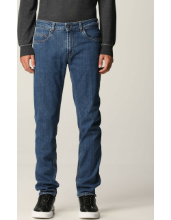Jeans FAY Men colour Gnawed Blue