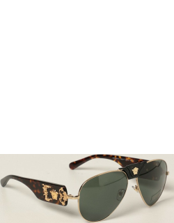 Versace sunglasses in acetate and metal with Medusa
