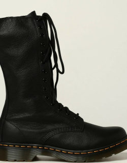 1B99 Virginia Dr. Martens boot in hammered leather