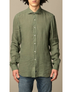Fay linen shirt with French collar