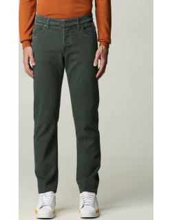 Trousers ROY ROGERS Men colour Moss Green