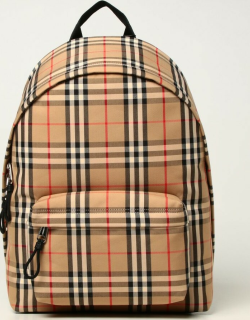 Burberry rucksack in nylon with vintage check pattern