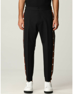 Dsquared2 twotone trousers with side bands
