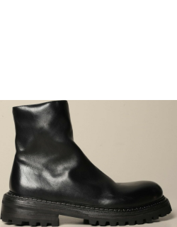 Marsèll Carrucola ankle boots in grained leather