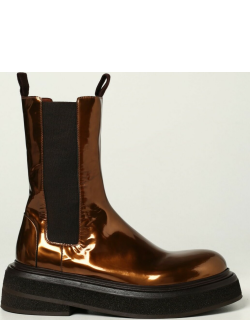 Marsèll Zuccone boots in laminated leather