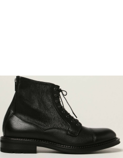 F.lli Rossetti ankle boots in grained leather