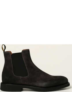 Doucal's ankle boot in suede