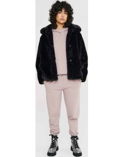 Carly womens midweight faux fur coat
