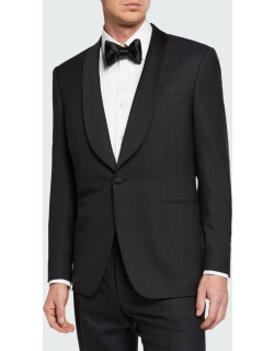 Men's Two-Piece Tuxedo with Shawl Collar