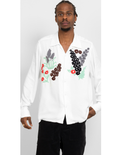 Noma t.d. Floral Embroidery Shirt White