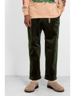 Gramicci Corduroy Tuck Tapered Pants Olive