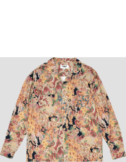 YMC Floral Feathers Shirt Multi