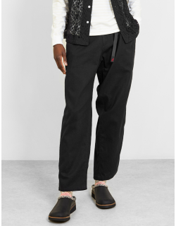 Gramicci Linen Wide Tapered Pants Black