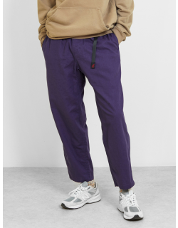 Gramicci Linen Wide Tapered Pants Ink Blue