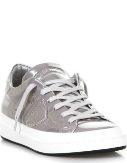 Philippe Model Patent Leather Low-top Sneakers
