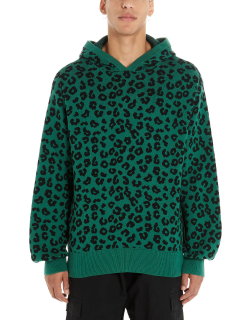 Just Don jungle Leopard Hoodie